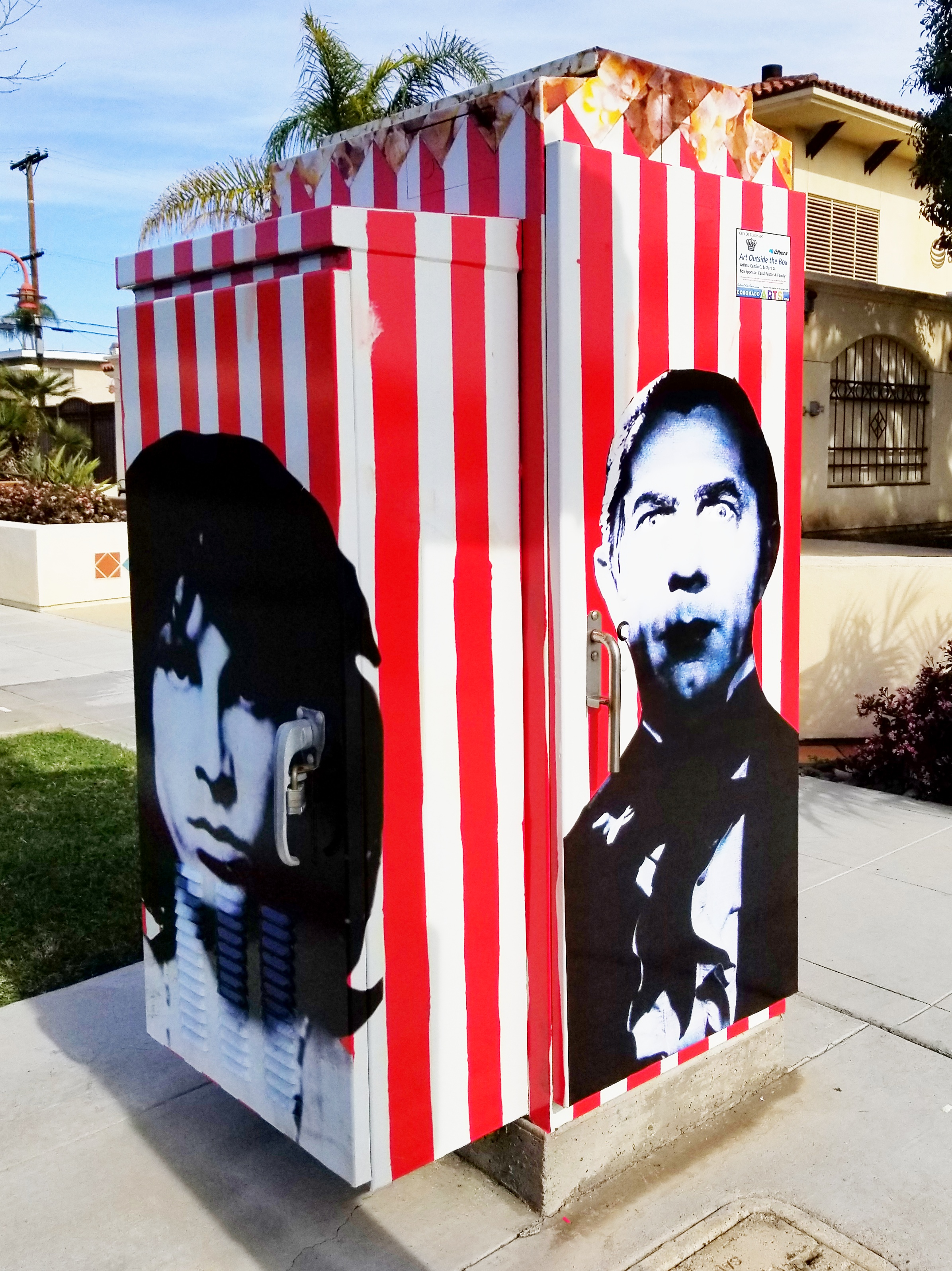 Art Outside the Box #2 Popcorn