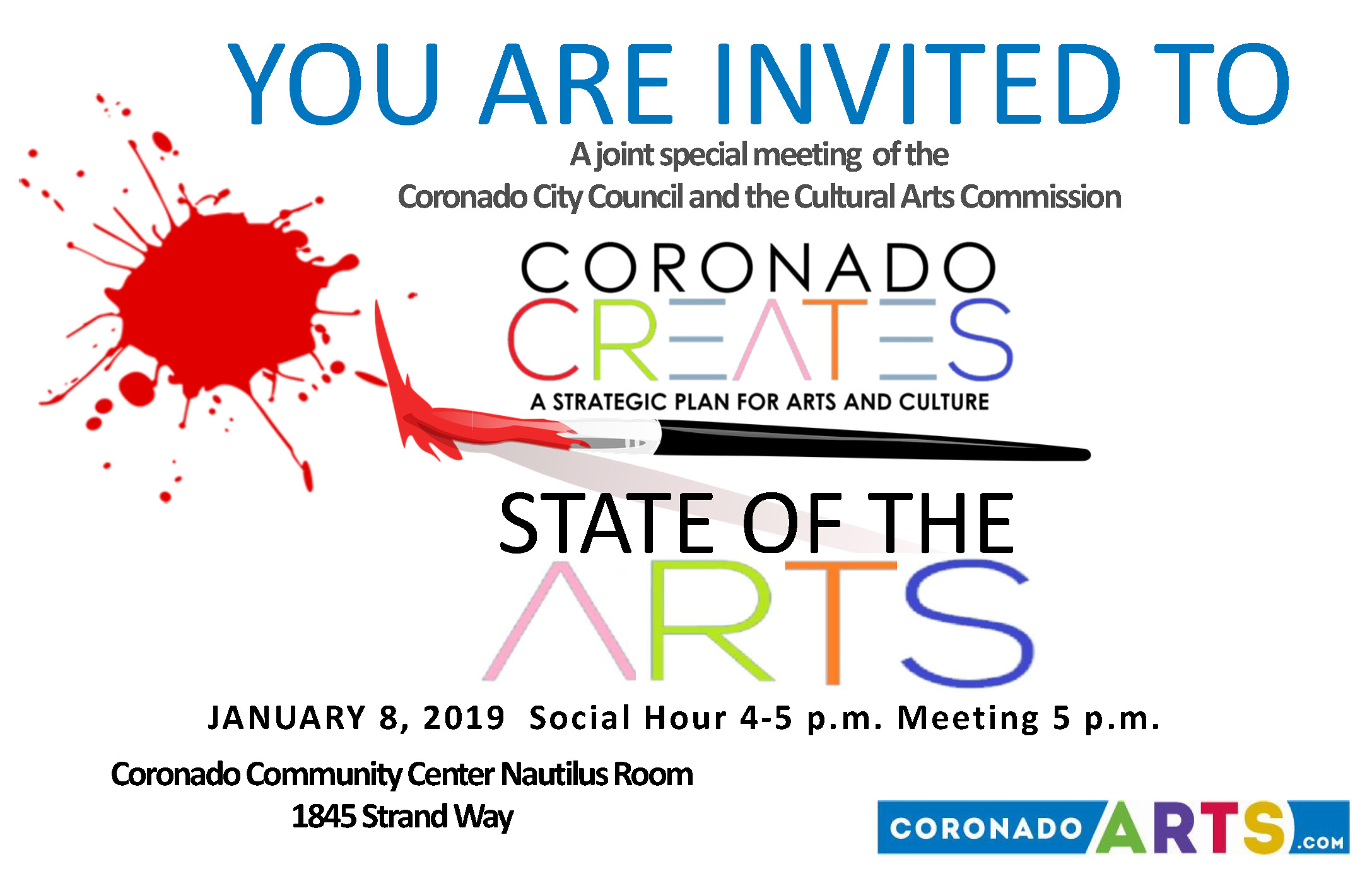 State of the Arts Invite