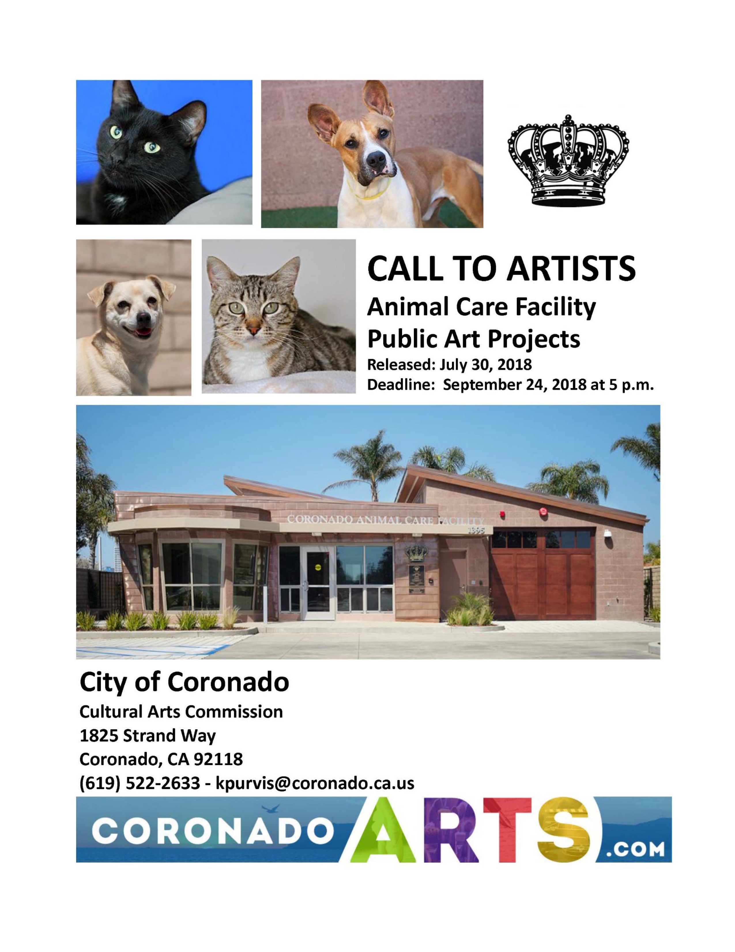Call to Artists PAWS